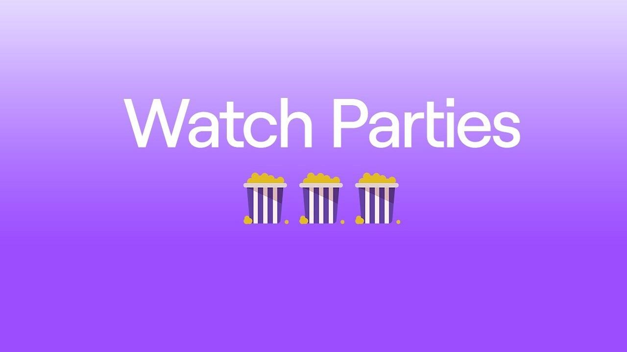 watch parties de twitch