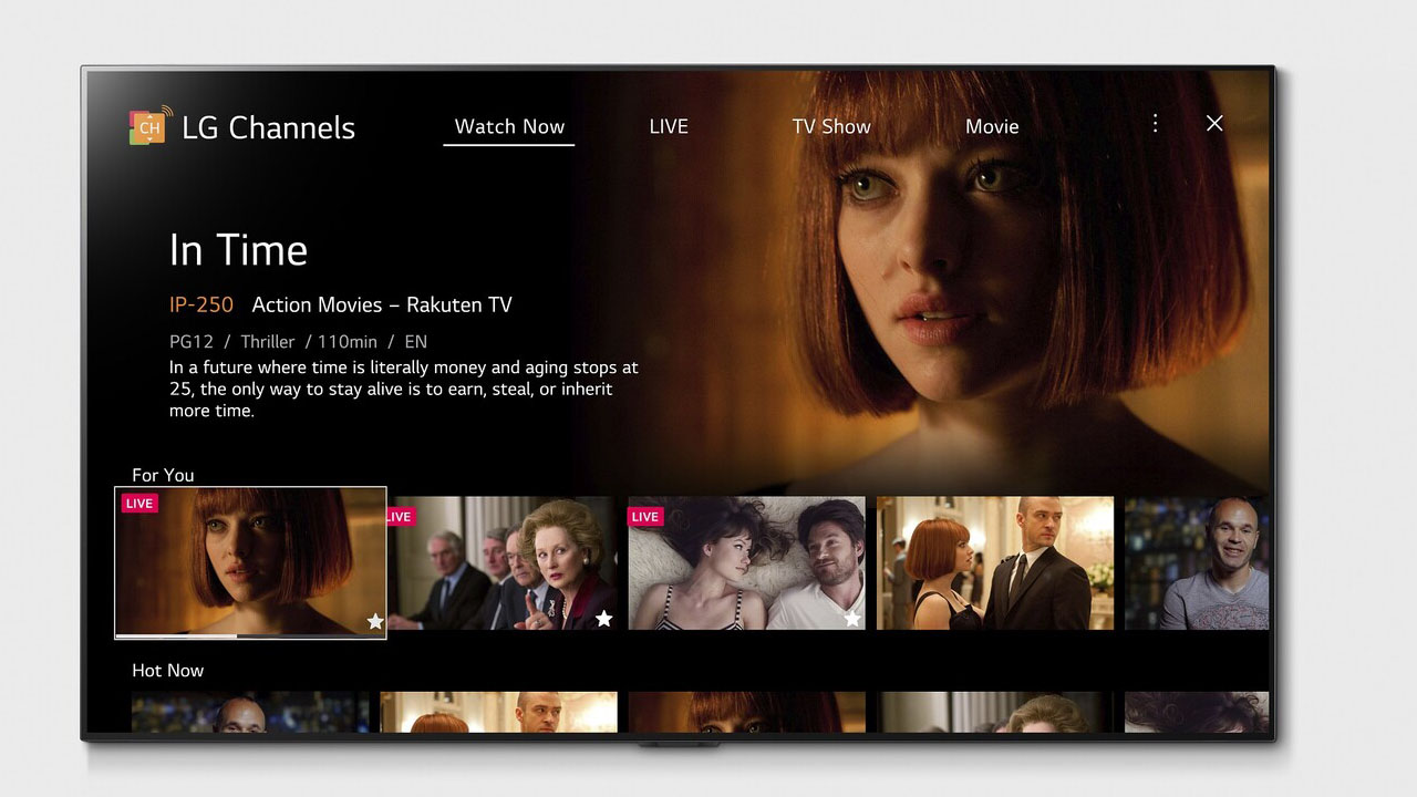 canales gratis en teles LG