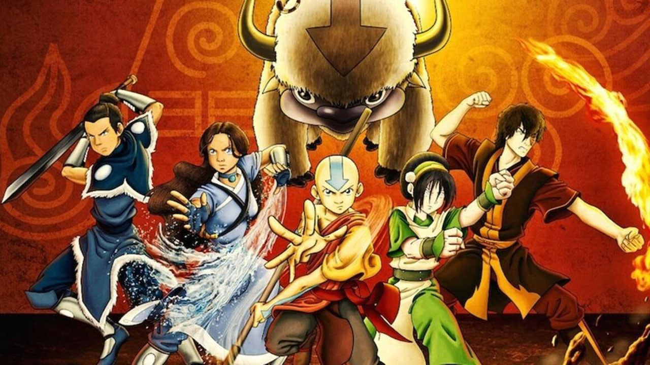 reparto de Avatar The Last Airbender
