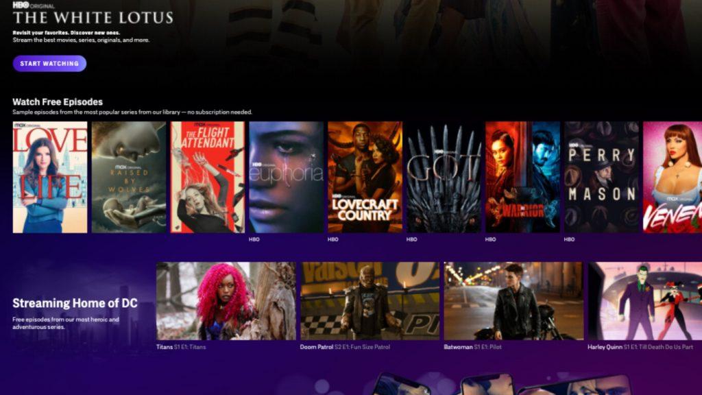 HBO Max te ofrece 13 capítulos gratis de series de producción propia