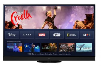 Disney+ en televisores Panasonic