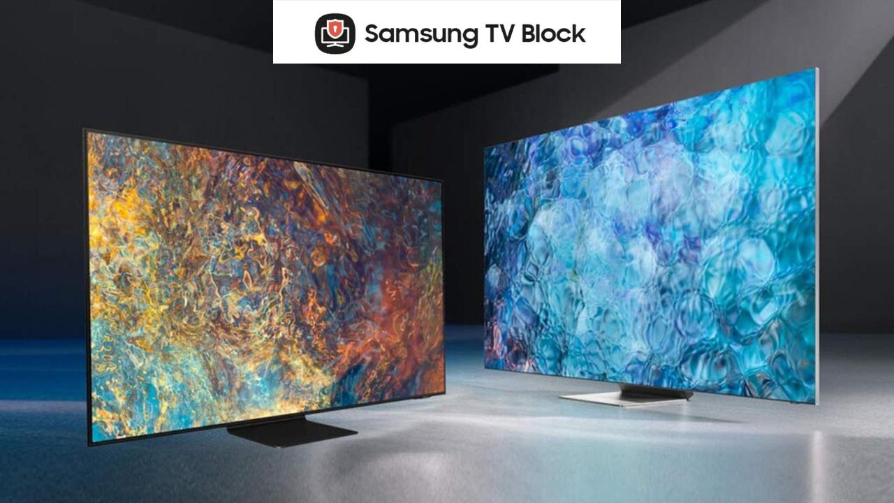 Samsung TV Block