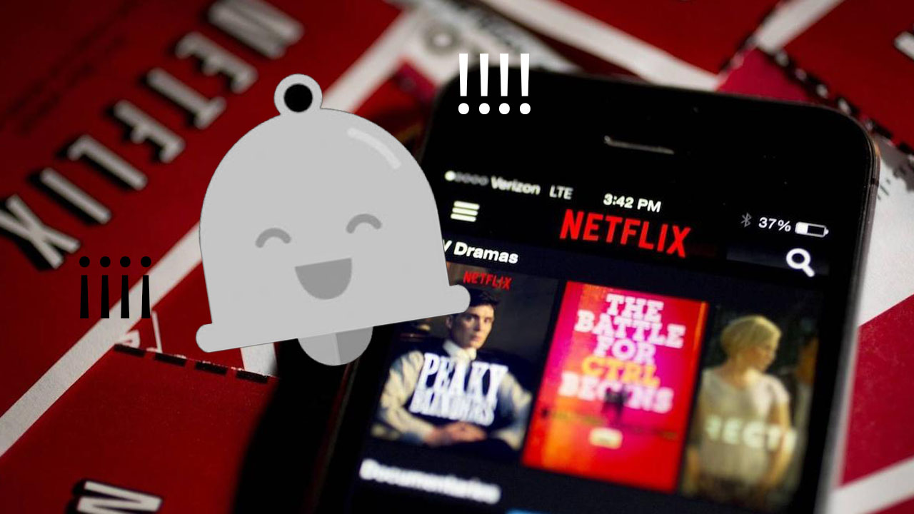 alertas en Netflix