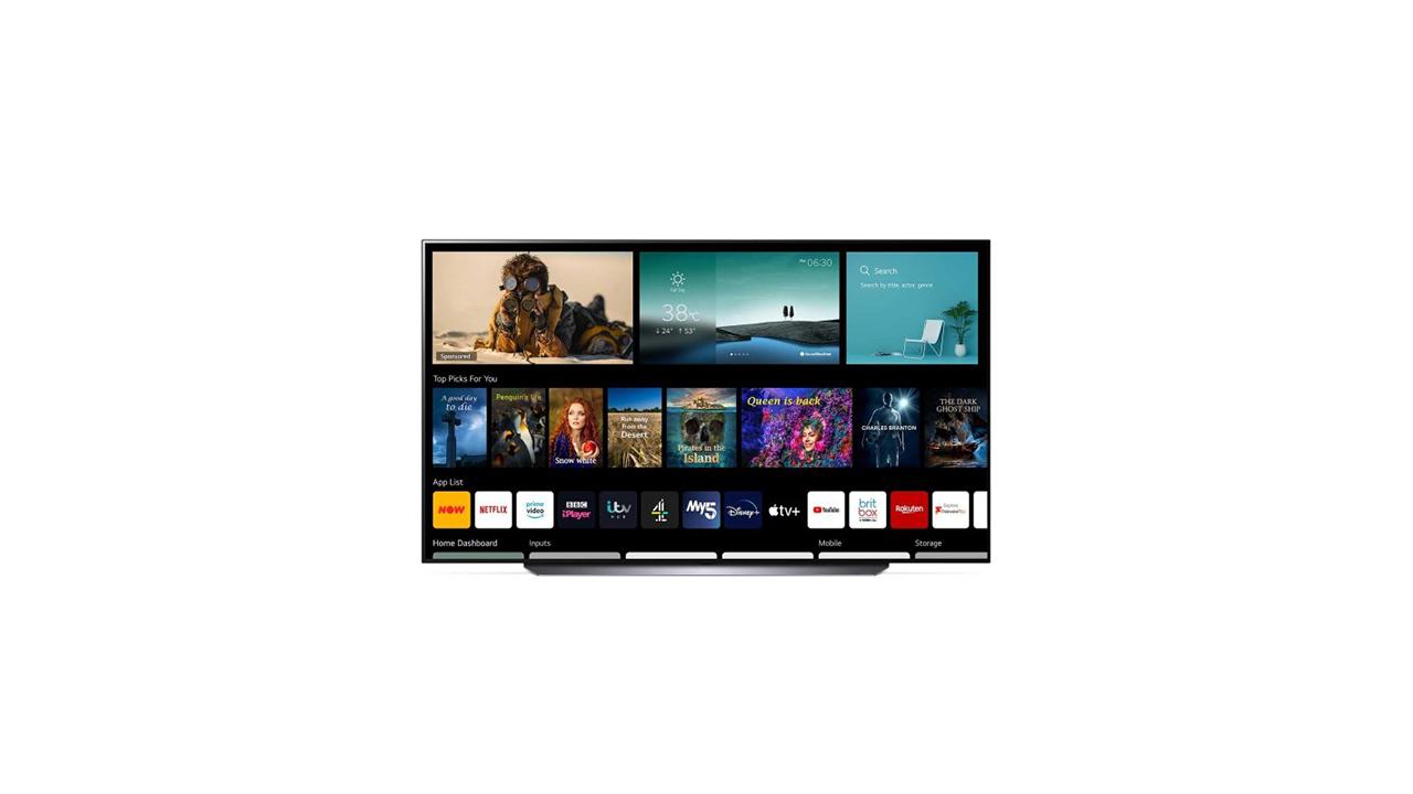 LG OLED83C14LA Smart TV