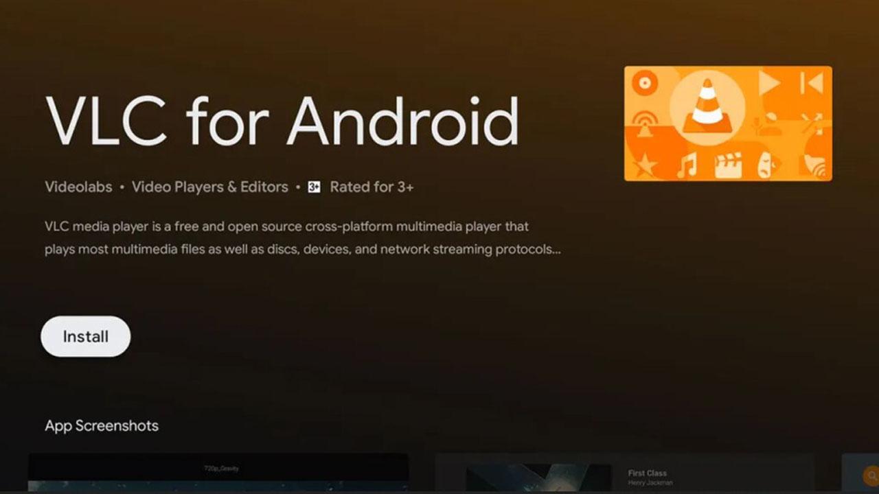 actualización de VLC Media Player para Android TV