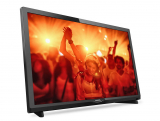 PHILIPS 24PHS4031, un televisor HD compacto y funcional.