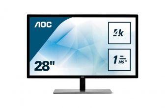 AOC U2879VF, disfruta de la resolución 4K en un monitor de apenas 28″