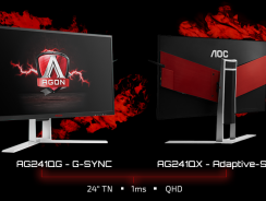 AOC AGON AG241QX, Monitor 2K para los jugadores exigentes