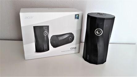 Acer C250i, probamos este práctico proyector portátil