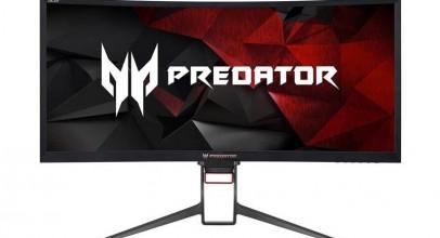 Acer Predator Z35P, un monitor ultrapanorámico curvo para gamers