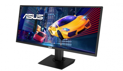 Asus VP348QGL, un monitor gaming ultrapanorámico de 34 pulgadas