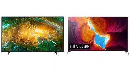 Comparamos el Sony XH8096 con el Sony XH9505: ¿qué TV es mejor?