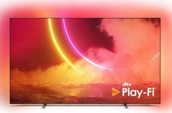 Se agrega DTS Play-Fi en los televisores Philips