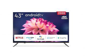 Engel LE4390ATV, disfruta del 4K y Android TV por menos de 300 euros