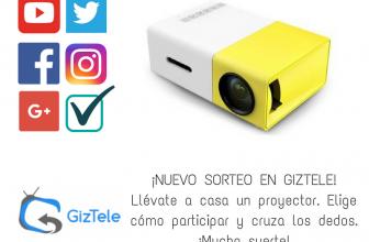 SORTEO: Proyector YG 300, ¡llévatelo gratis!