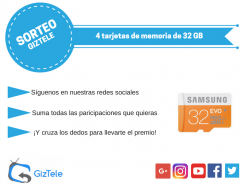 SORTEO: 4 tarjetas microSD de 32 GB de distintas marcas