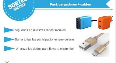 SORTEO: Pack de cargadores Lumsing y cables lightning Aldom [FINALIZADO]