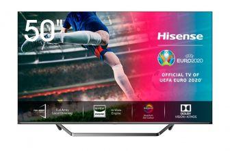 Hisense 50U7QF, televisor 4K que se enfoca al ámbito deportivo