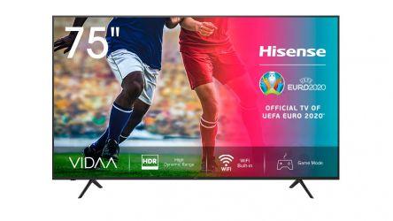 Hisense 75A7100F, el televisor que te adentra a la nueva generación