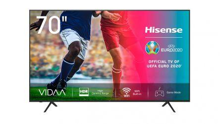 Hisense 70A7100F, un televisor grande que adapta un buen precio