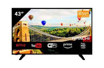 Hitachi 43HE4005, un Smart TV que alcanza la clásica resolución Full HD