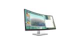 HP E344c, monitor curvo diseñado para trabajar con comodidad