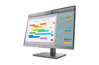 HP EliteDisplay E243i, un monitor que puedes girar en horizontal y vertical