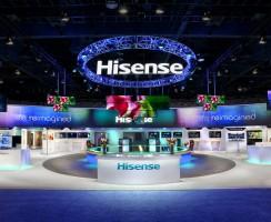 #CES2017: Hisense presenta nuevos televisores y accesorios