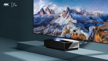 Hisense 100L5F-A12, proyector 4K con Smart TV integrado