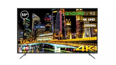 Infiniton INTV-55MU2000, un televisor económico con Android TV