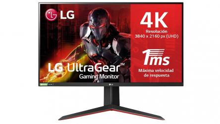 LG 27GN950, el primer monitor gaming 4K IPS 1ms del mundo