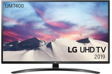LG 43UM7450PLA, una TV 4K con sistema de Inteligencia Artificial ThinQ