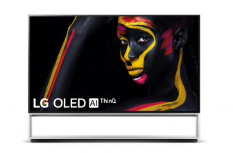 LG OLED88Z9PLA, un televisor 8K gigante con mueble incorporado