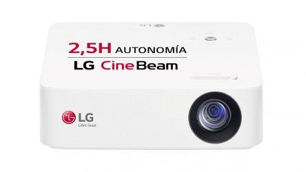 LGPH30N, un proyector HD muy compacto, completo y asequible