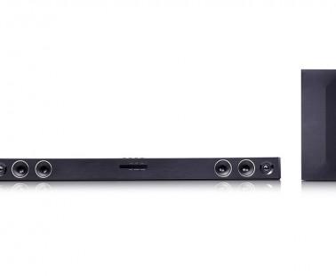 LG SH3B, barra de sonido con un diseño elegante