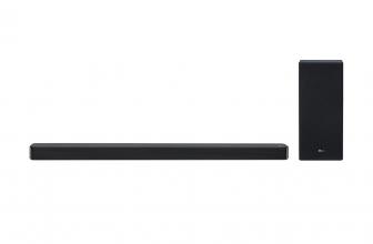 LG SL6YF, una potente barra de sonido de 3.1 canales