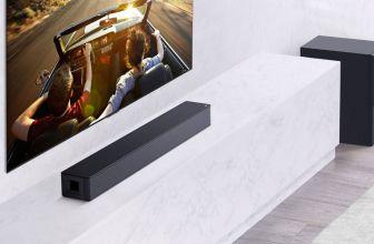 LG SNH5, barra con sonido cinematográfico y funciones de domótica