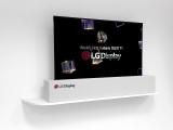#CES18: LG hace realidad una pantalla enrollable y un televisor 8K