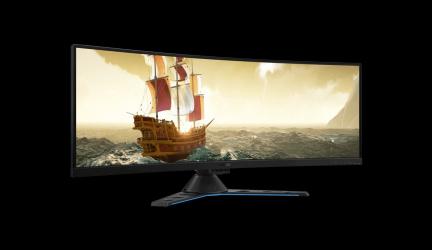 Lenovo Legion Y44w-10, un fabuloso monitor curvo gaming