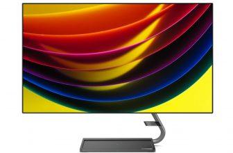 Lenovo Qreator, detalles de un espectacular monitor UHD
