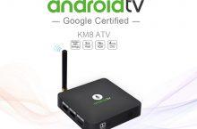 MECOOL KM8, Android TV Box con Oreo y comandos de voz