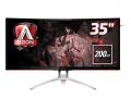 AOC AGON AG352QCX, monitor curvo de grandes dimensiones