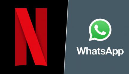 ¿Sabes que ya se puede ver cierto contenido de Netflix en WhatsApp?