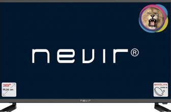 Nevir NVR770739RD2SN, una TV idónea para una segunda residencia