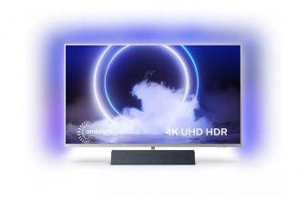 Philips 43PUS9235/12, un televisor que incluye su propia barra de sonido