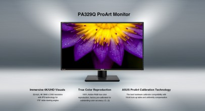 Asus ProArt PA329Q, nuevo monitor 4K profesional