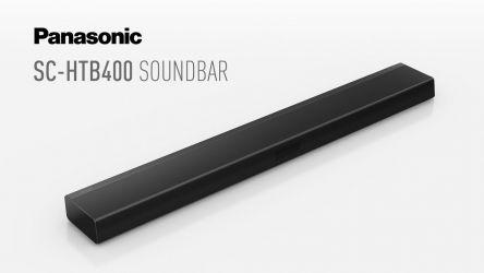 Panasonic SC-HTB400, barra de sonido tradicional con 160W de potencia