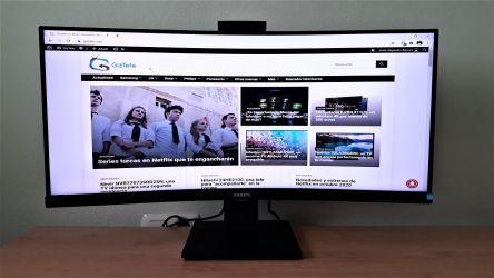 Philips 346P1, probamos este monitor UltraWide curvo