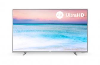 Philips 50PUS6554, televisor 4K y con funciones Smart de precio mínimo