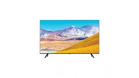 Samsung UE82TU8072U, un televisor de gran tamaño y diseño elegante